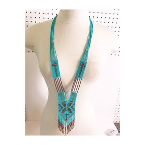 Jewelry - American Indian beef seed necklace